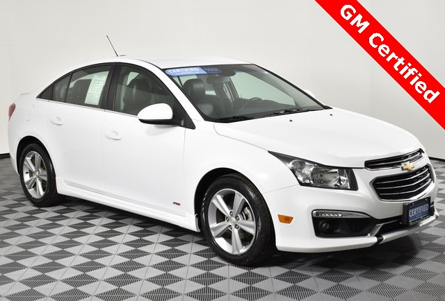 Certified Pre-Owned 2015 Chevrolet Cruze 2LT