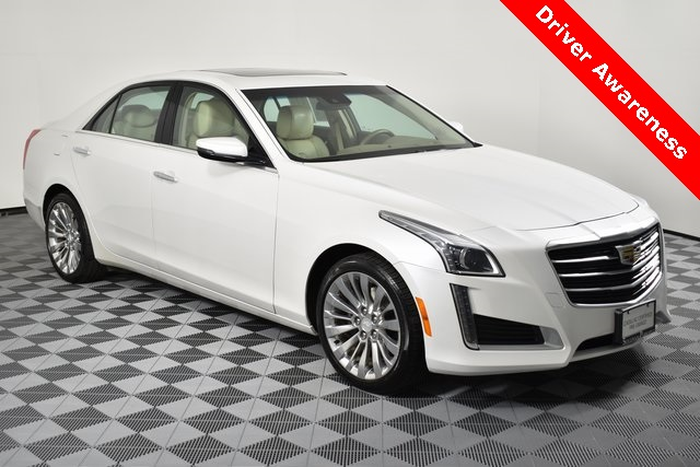 Certified Pre-Owned 2016 Cadillac CTS 3.6L Luxury