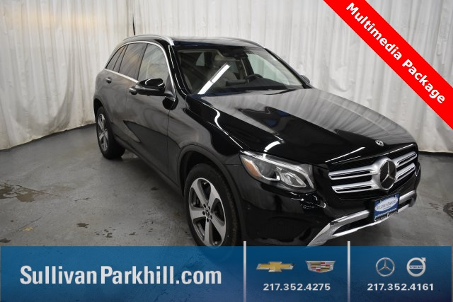 certified pre-owned 2018 mercedes-benz glc glc 300 4matic® 4d sport